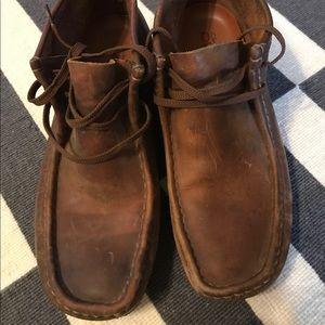 Men's Clark's Wallabees - Size 9.5
